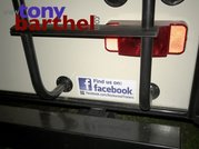 Like us on Facebook bumper sticker