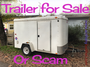 The trailer load of scams